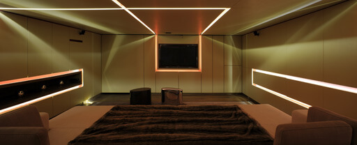 Cinema Room in Geneva
