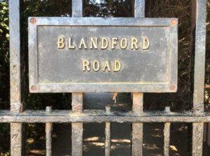 Blandford sign
